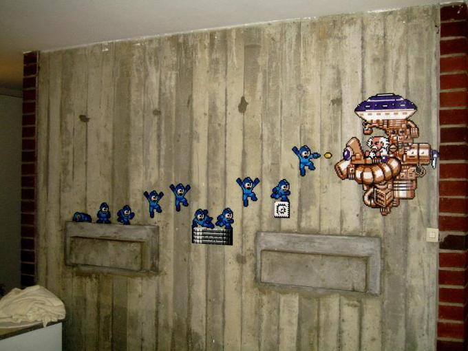 Mega Man Wall Mural