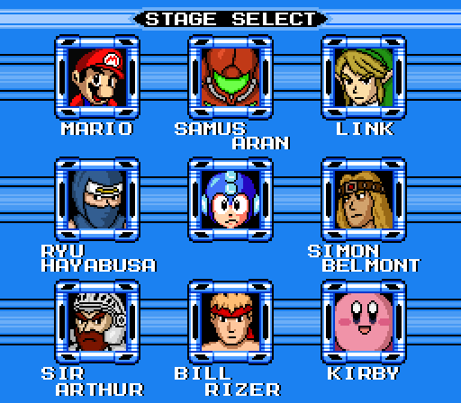 Mega Man vs. Famicon by TerminusEst13