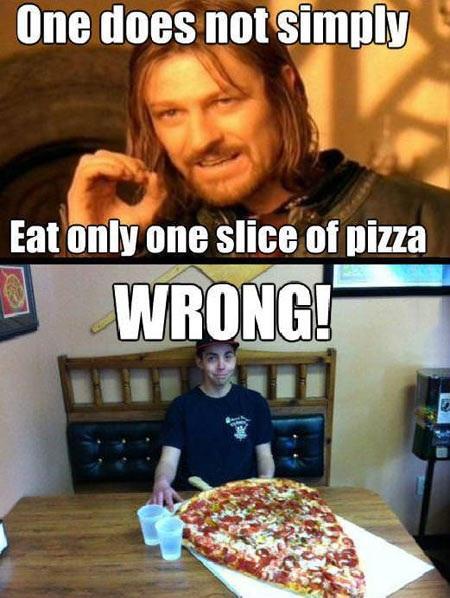 Pizza porn meme for