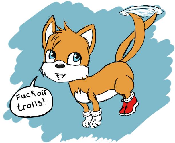 Tails Trolls the Trolls by SwinInSoup