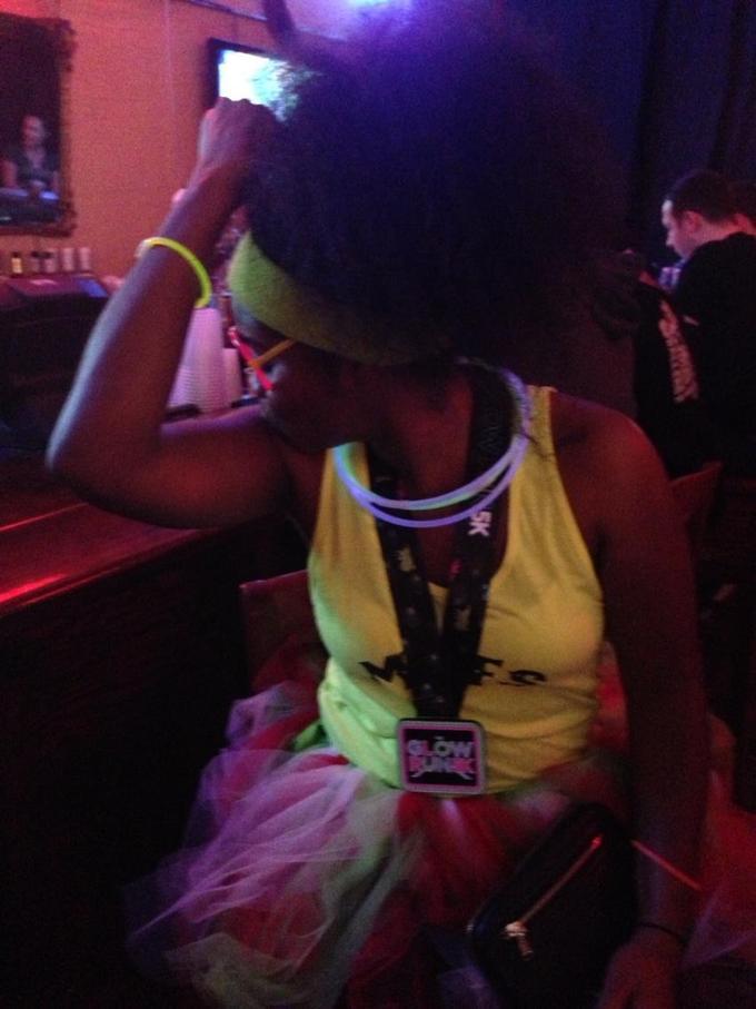 Kaepernicking at the bar...
