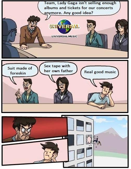 Boardroom Suggestion - Lady GaGa