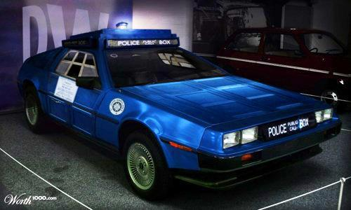 DeLorean Tardis