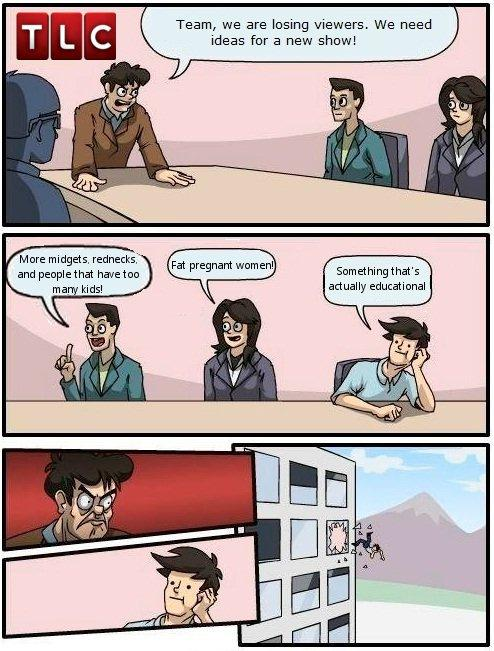 TLC Boardroom Suggestions