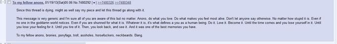 Found this gold on /mlp/