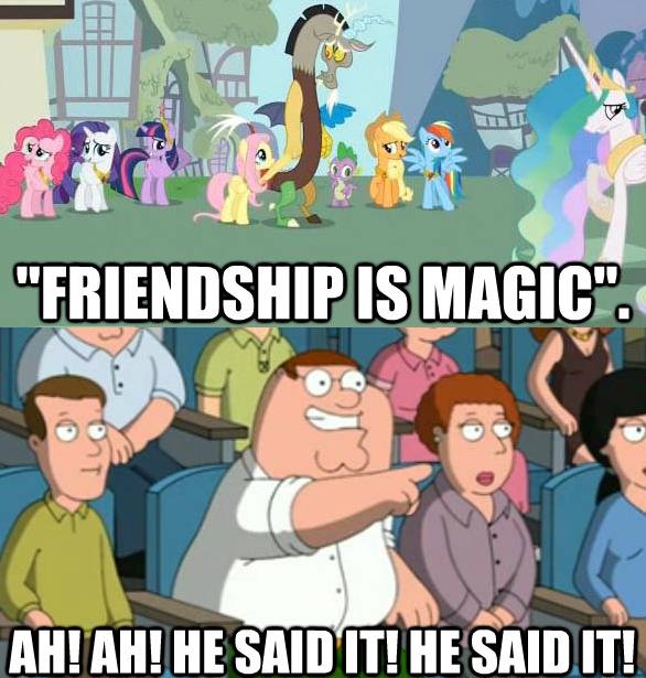 ah! ah! he said it! he said it!