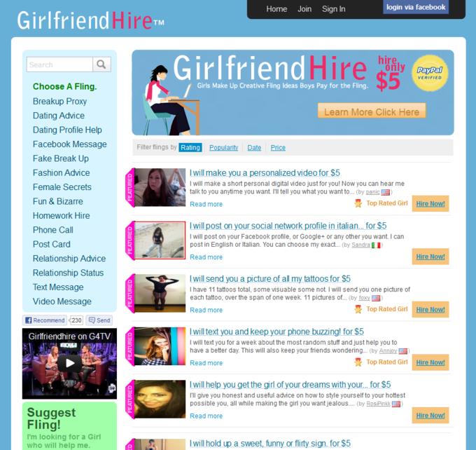 GirlfriendHire