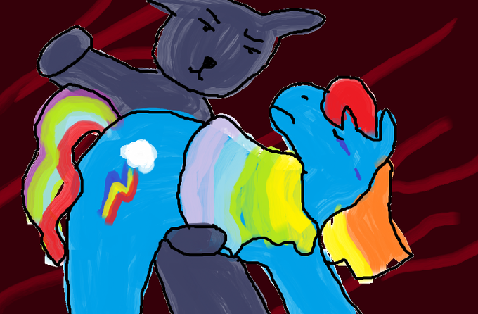 Rainbow Dash and Spores