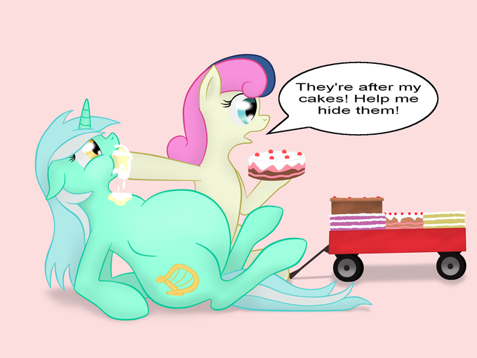 Hide the cakes!