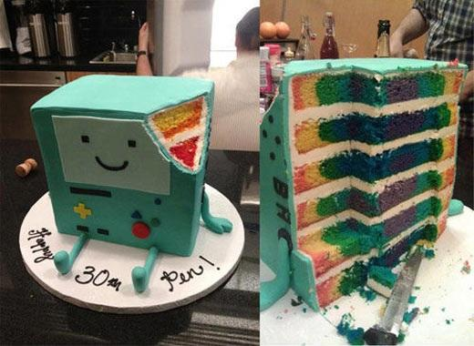 how to make adventure time cake