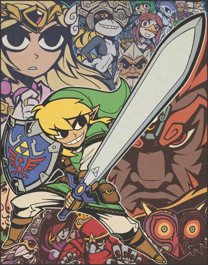 Legend of Zelda Fanart