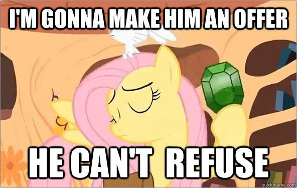 Fluttershy's Offer