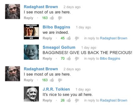 Tolkien is Alive