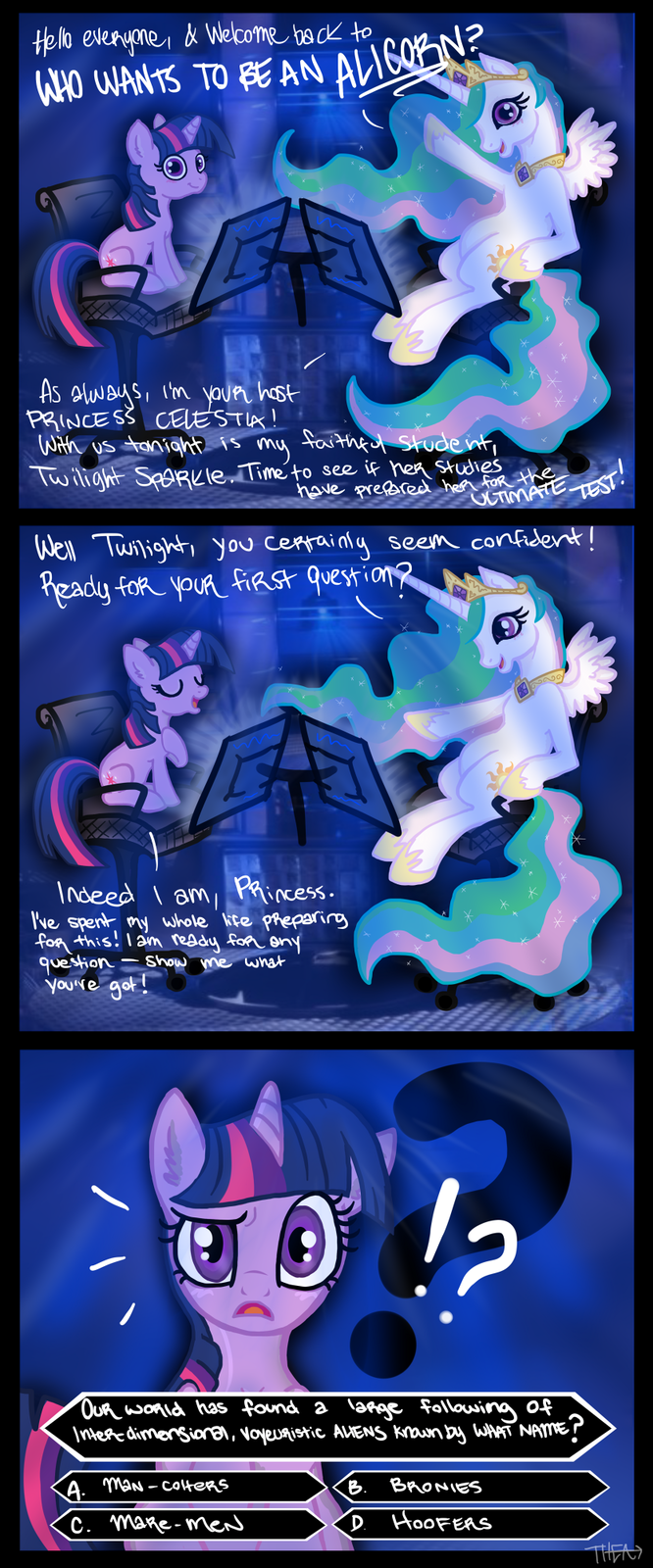 Who Wants To Be An Alicorn?