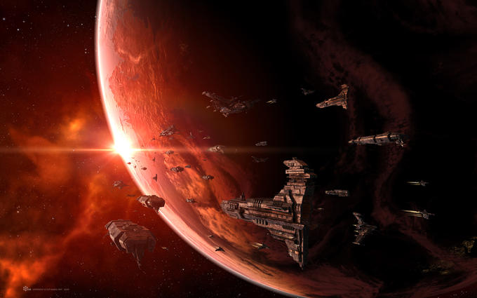 Large Caldari Fleet