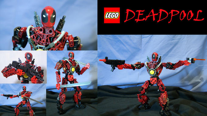 MFW BIONICLE Deadpooled
