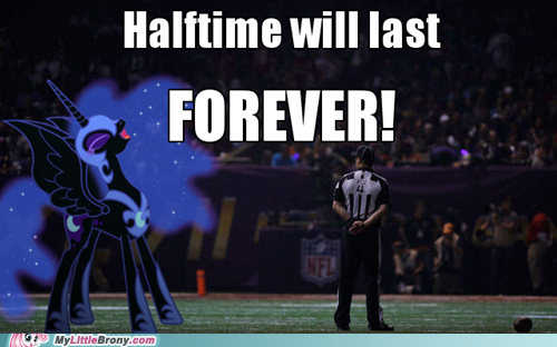 thank celestia the mane 6 took the elements of harmony to the superdome with them