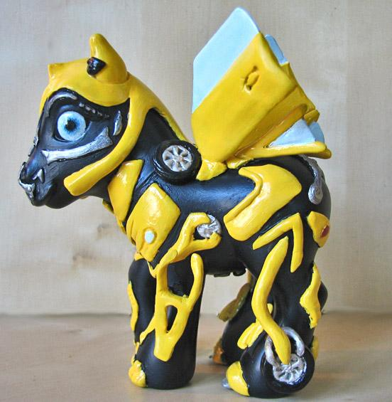 Transformers 2007 Bumblebee Ponification