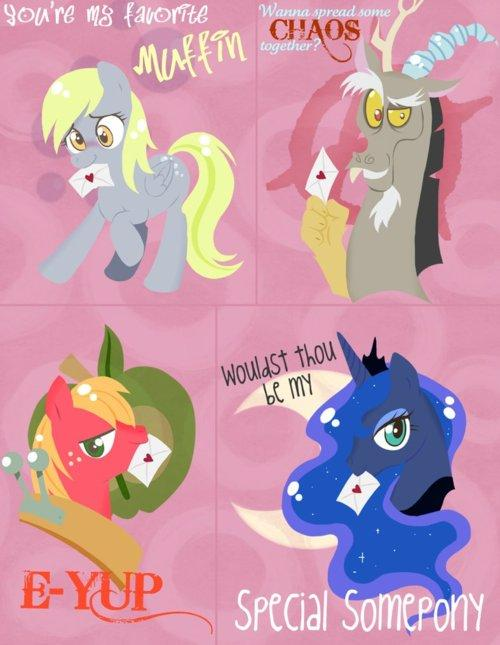 My Little Pony Friendship is Magic  Valentines Day Ecards