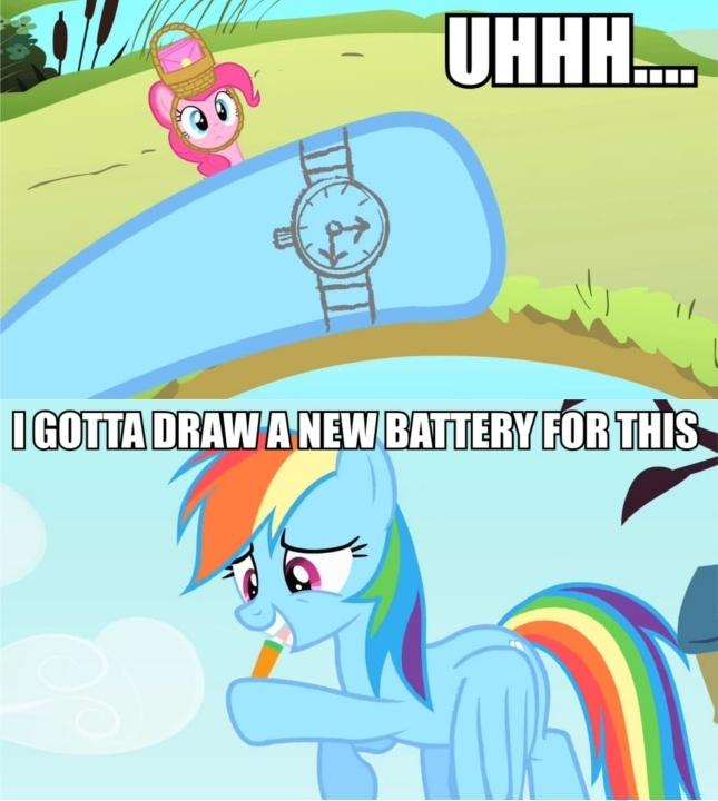 That certainly does not look like she's making an excuse to not attend pinkie pie's party.