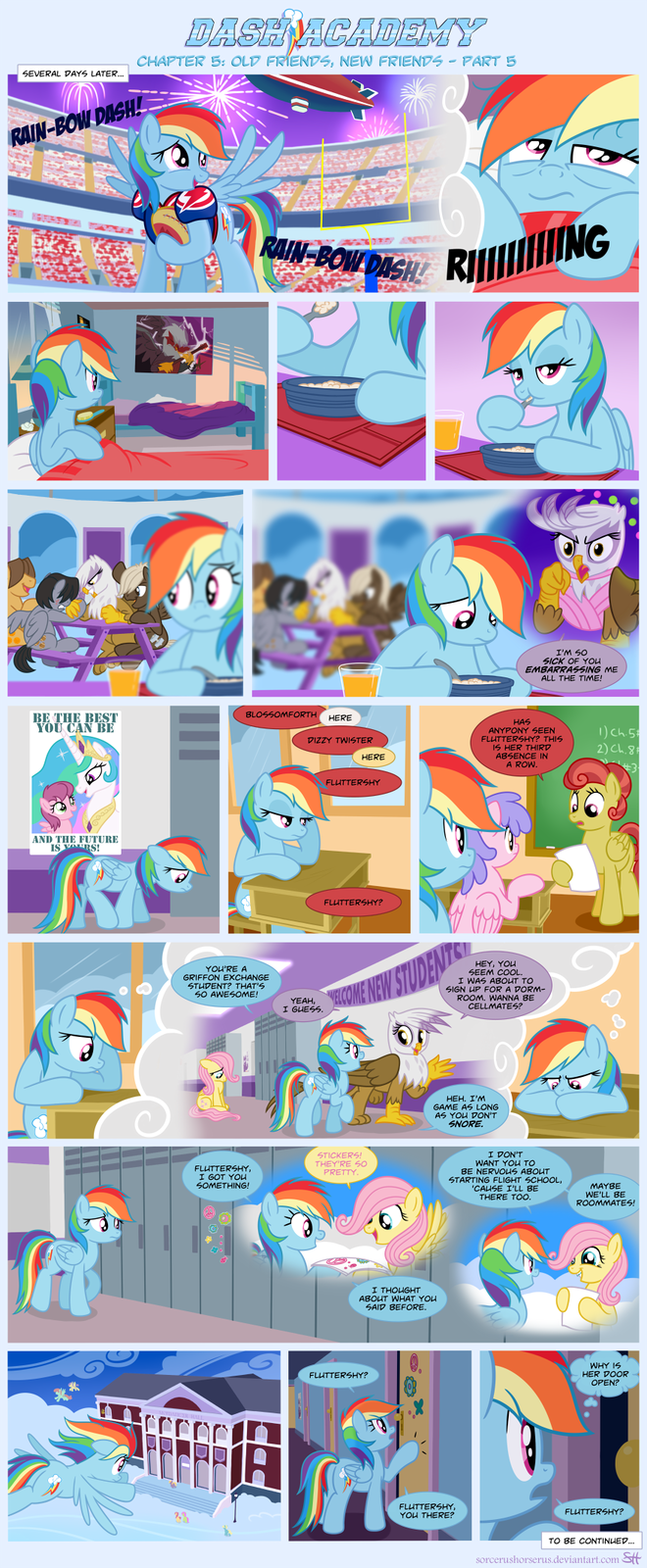 Dash Academy 5- Old Friends, New Friends 5