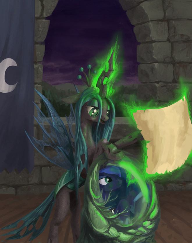 With your army I will conquer all of Equestria!