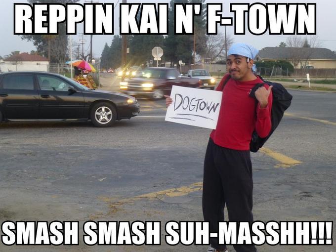 Actually in Fresno...