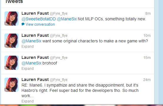Lauren Faust is an angel
