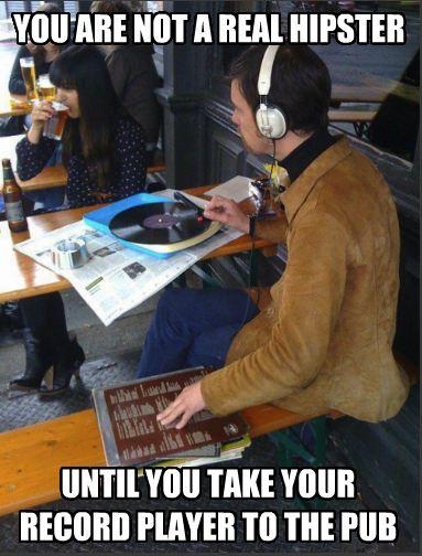 Vinyl Hipster Hipster Know Your Meme