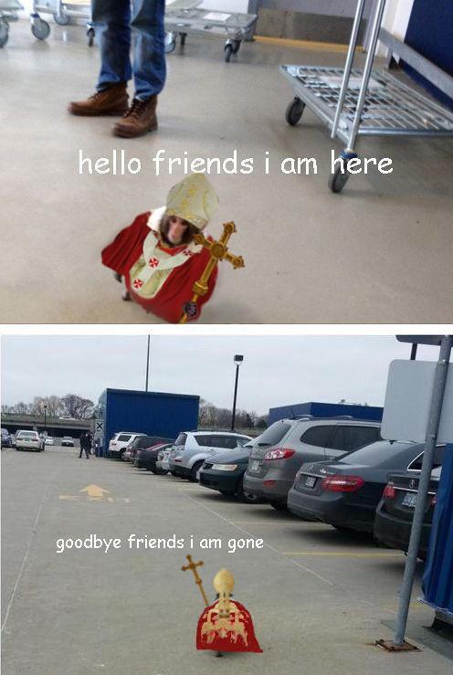 Ikea Monkey Pope leaves