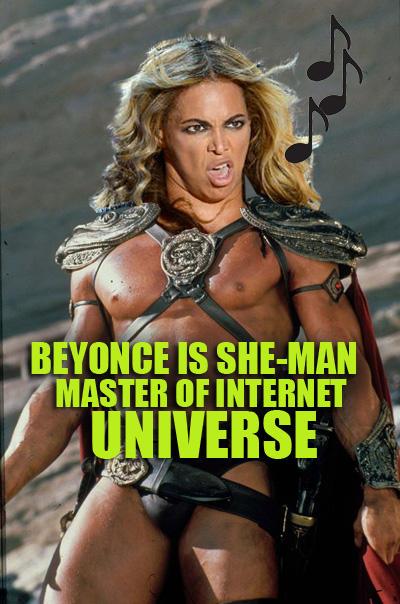 Beyonce is SheMan
