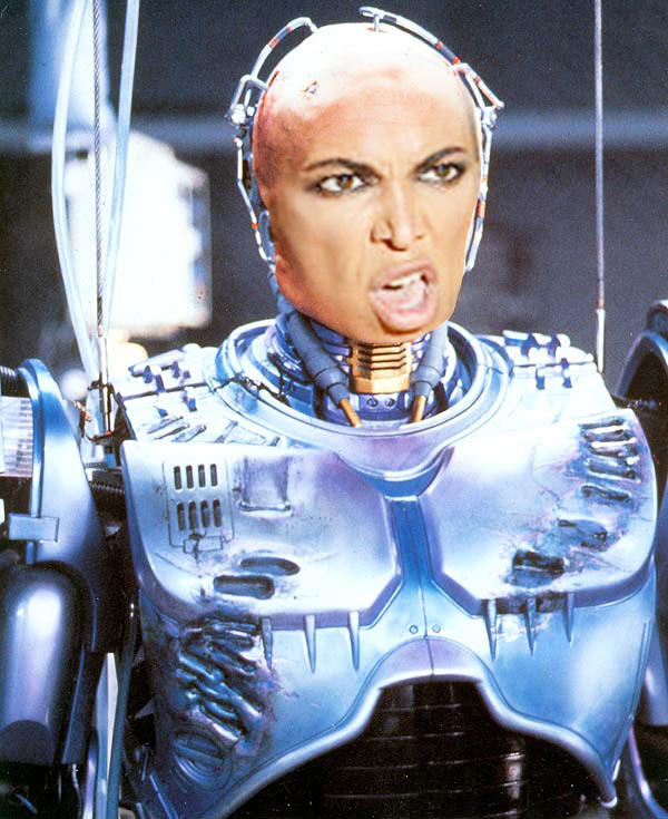 Beyonce Robo Cop