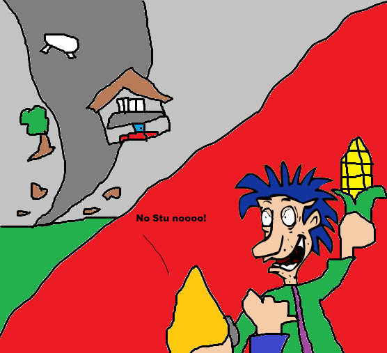 tornadoes and a snapped stu pickles