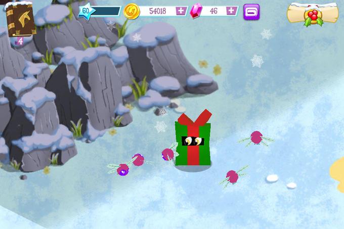 Derpy in MLP:FiM App Game (Winter)