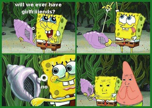 SpongeBob and Patrick know that feel