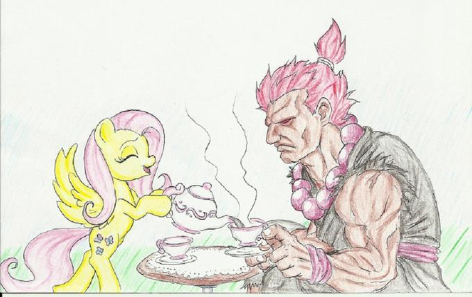 Fluttershy's reform school for villains
