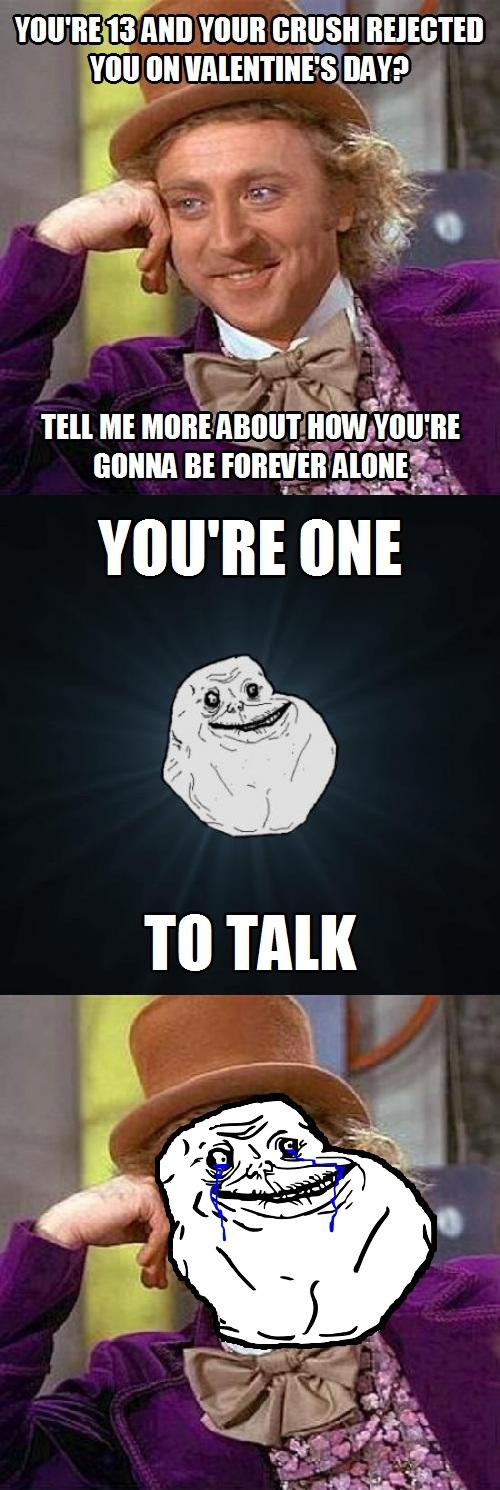 Forever Alone/Creepy Condescending Wonka