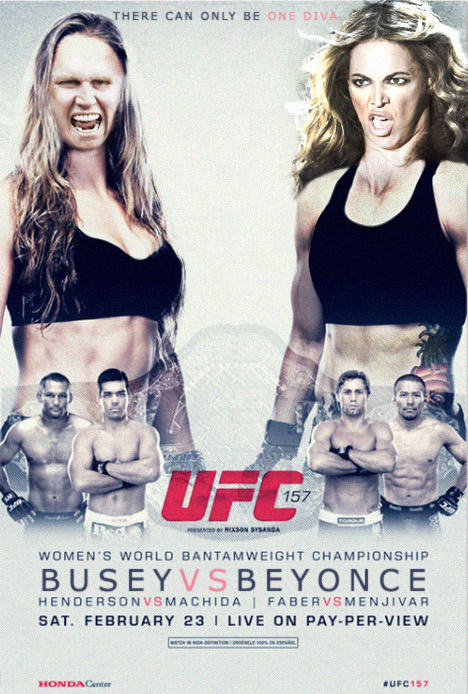 Headlining UFC 157