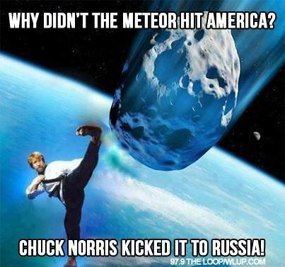Chuck saved us!