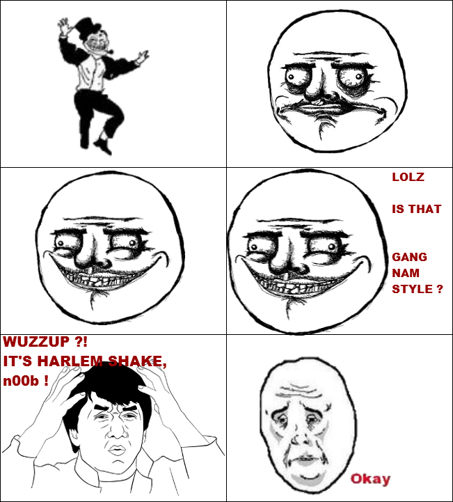 HARLEM SHAKE IS MAINSTREAM !