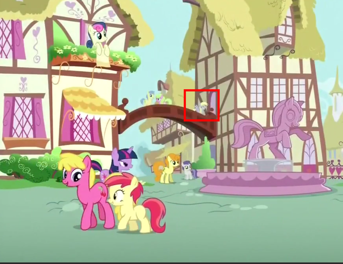 Another Derpy appearance in the S3 finale