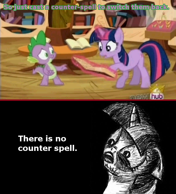 Just cast the counter spell