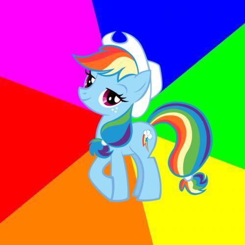 Rainbowjack meme template