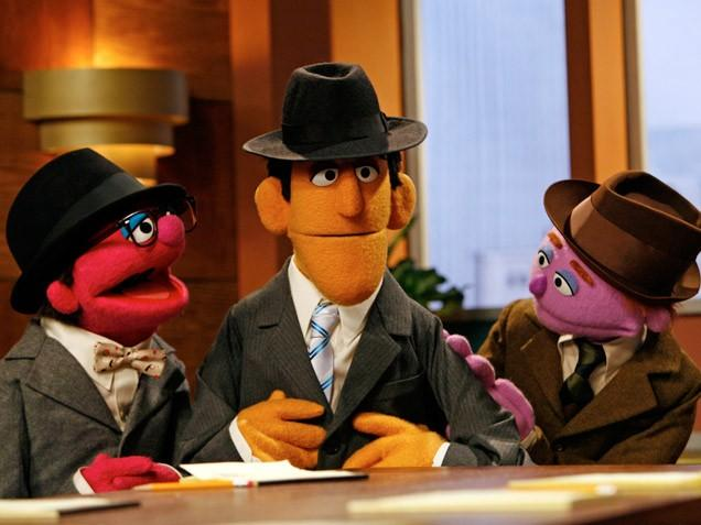 Sesame Street Mad Men