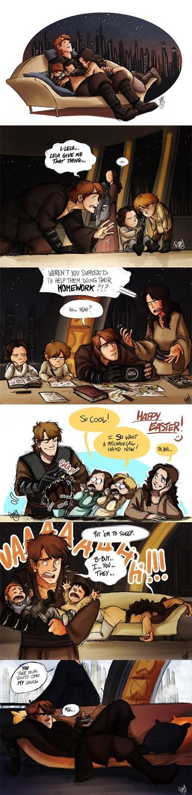If Anakin Hadn't Gone to the Dark Side