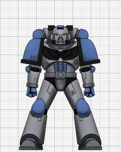 Space Marine of the Alfa Legion