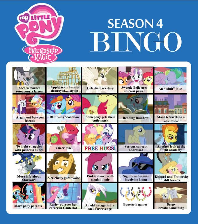 Season 4 Bingo Chart 1.2