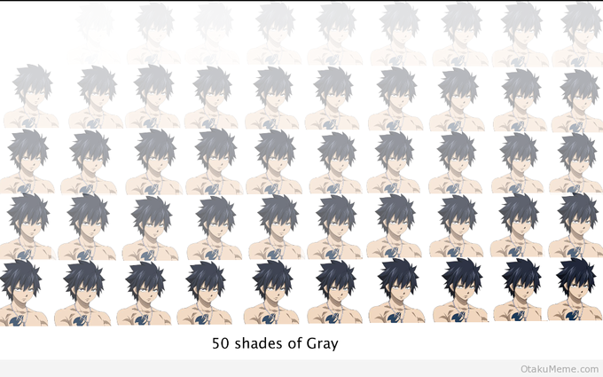 50 shades of Gray Fullbuster