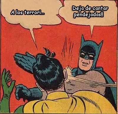 Batman slapping Robin Harlem Shit