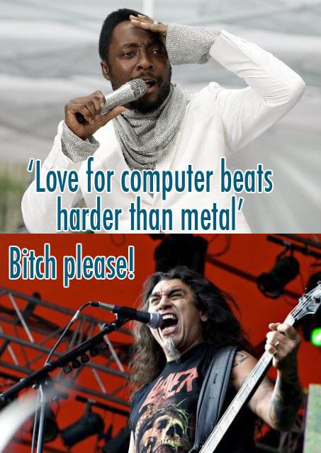 Wil.I.Am vs Slayer